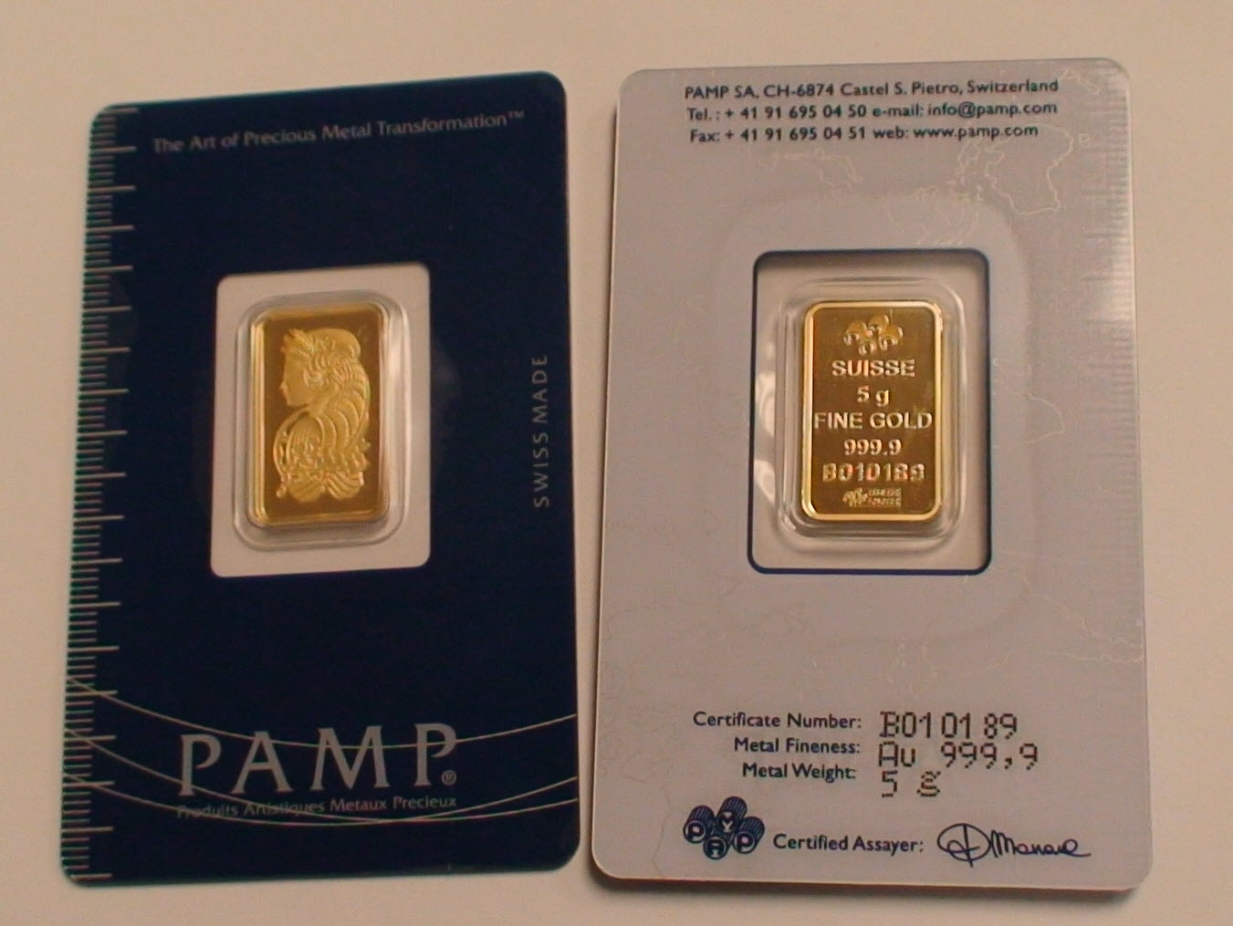 Swiss Gold Bars Bullion Er Portland Ers