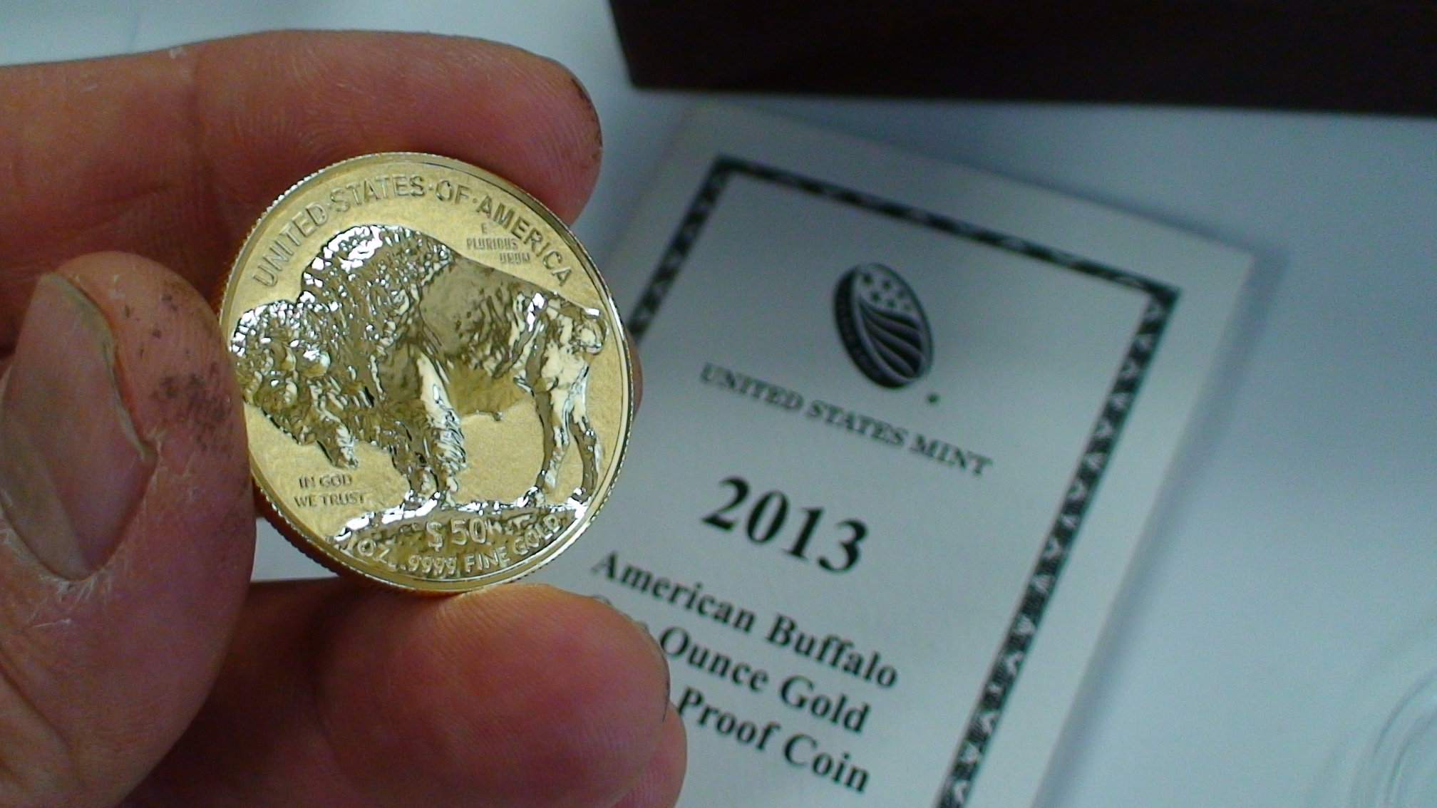 American Buffalo Gold Coin Reverse Proof