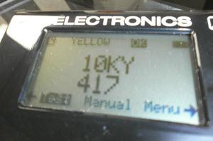 Electronic gold testing