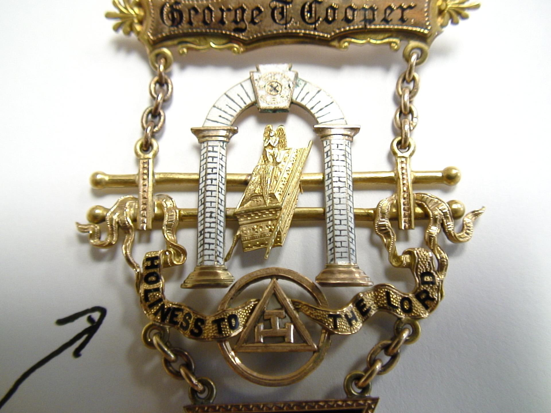 Masonic Gold Jewelry