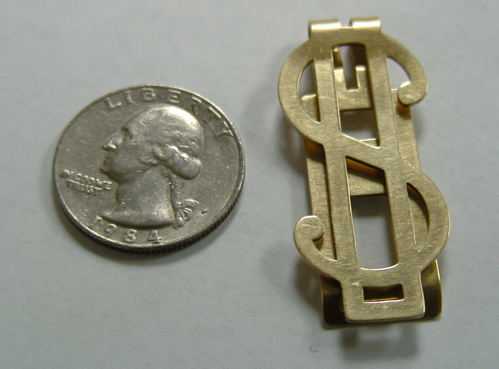 05-Gold Clip Dollar Sign