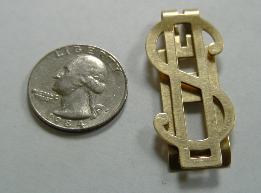 05-Gold Clip Dollar Sign