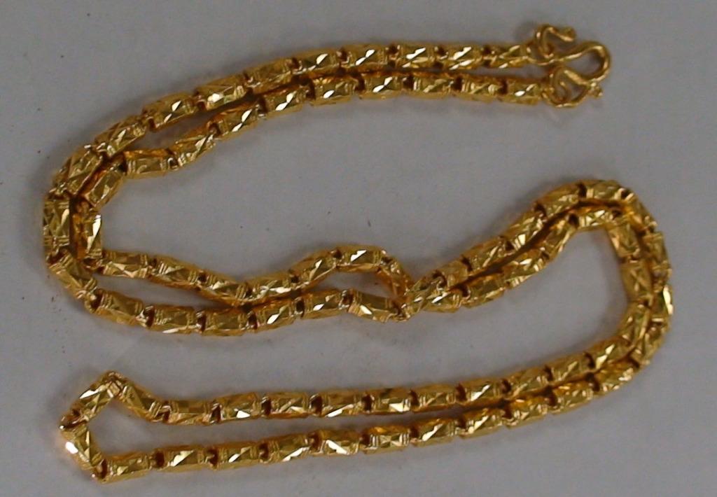 Thai Baht Gold Chain