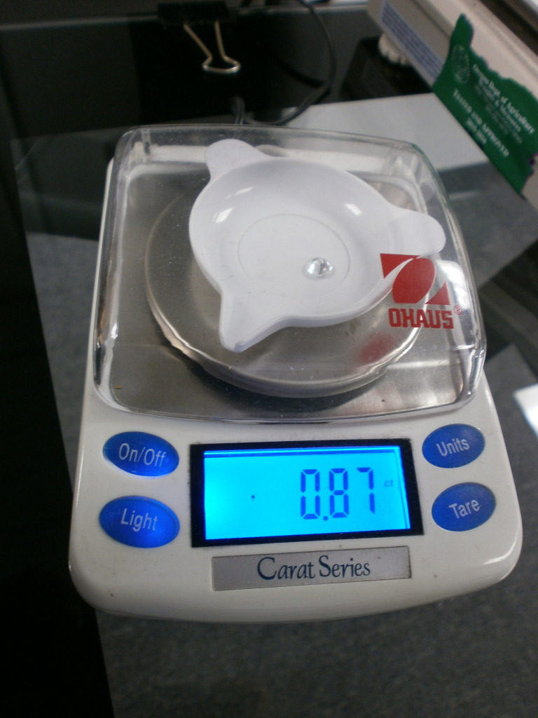 Diamond Carat Scale