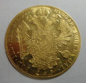 Austrian Ducat Gold Coin