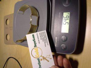 14K Gold Watch Carcass