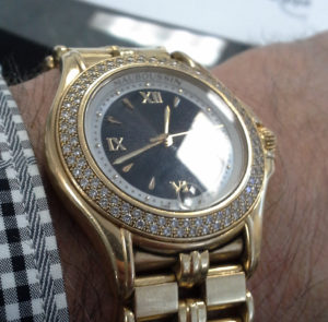 Maubousin 18K Gold Watch