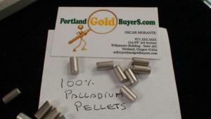 Palladium Pellets