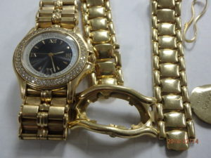 Scrapped 18K Gold Watches