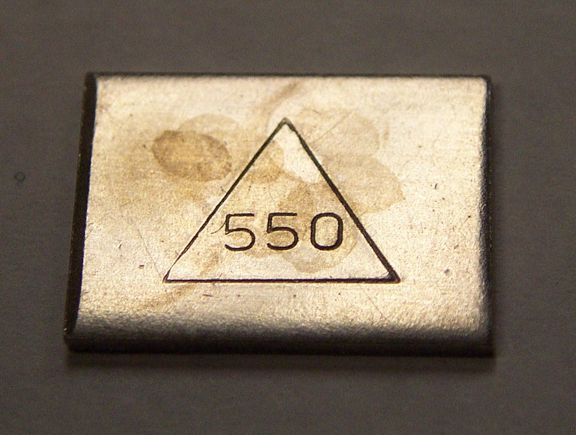 White 14K Dental Gold Pennyweight