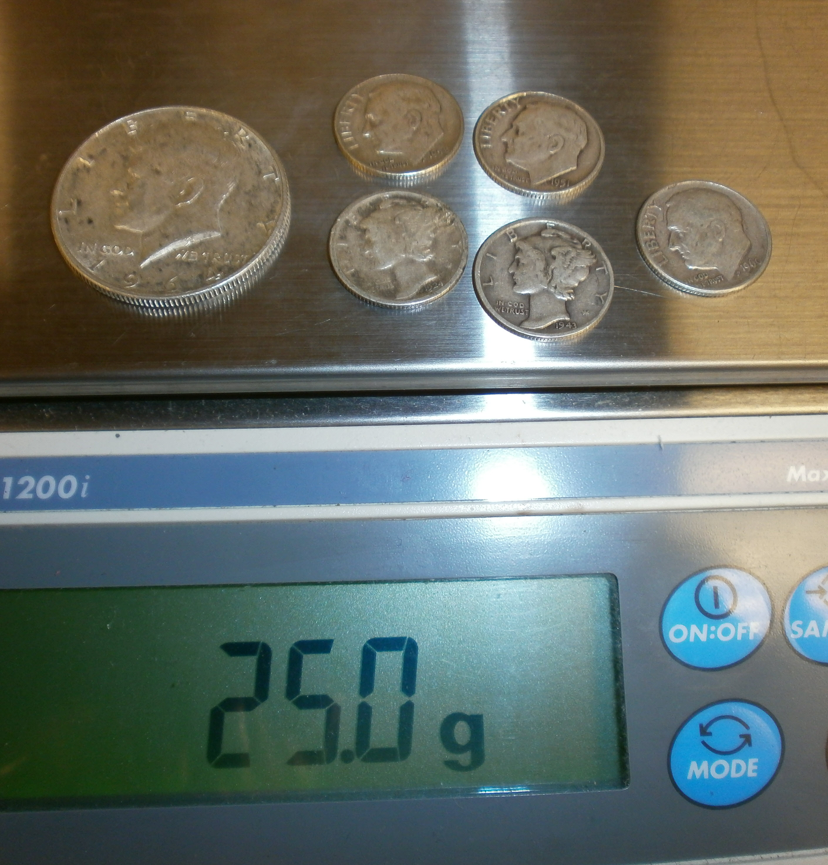 Silver Coin Fractionals