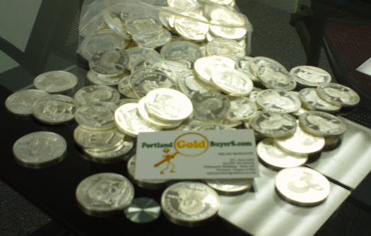 Silver Rounds Portland